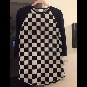 NWT Checkers 🎈Randy Top size Small